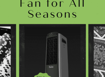 Air Purifier, Humidifier, Cooler and Fan for All Seasons