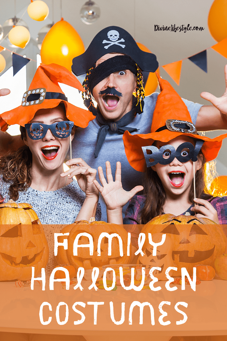 Matching family halloween costumes funny Punny Family Halloween Costumes