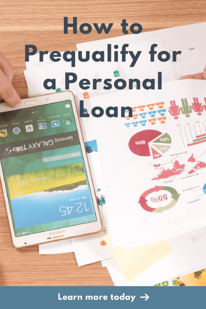 How to Prequalify for a Personal Loan