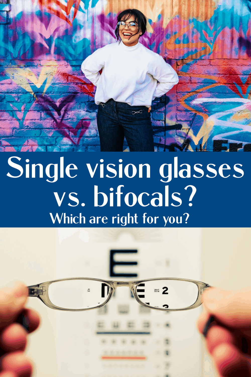 Single vision glasses vs. bifocals? Which are right for you?