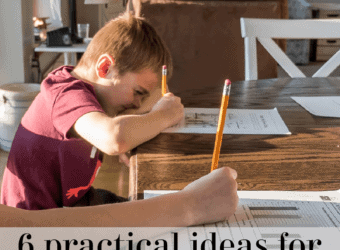 6 practical ideas for creating a great homeschooling space