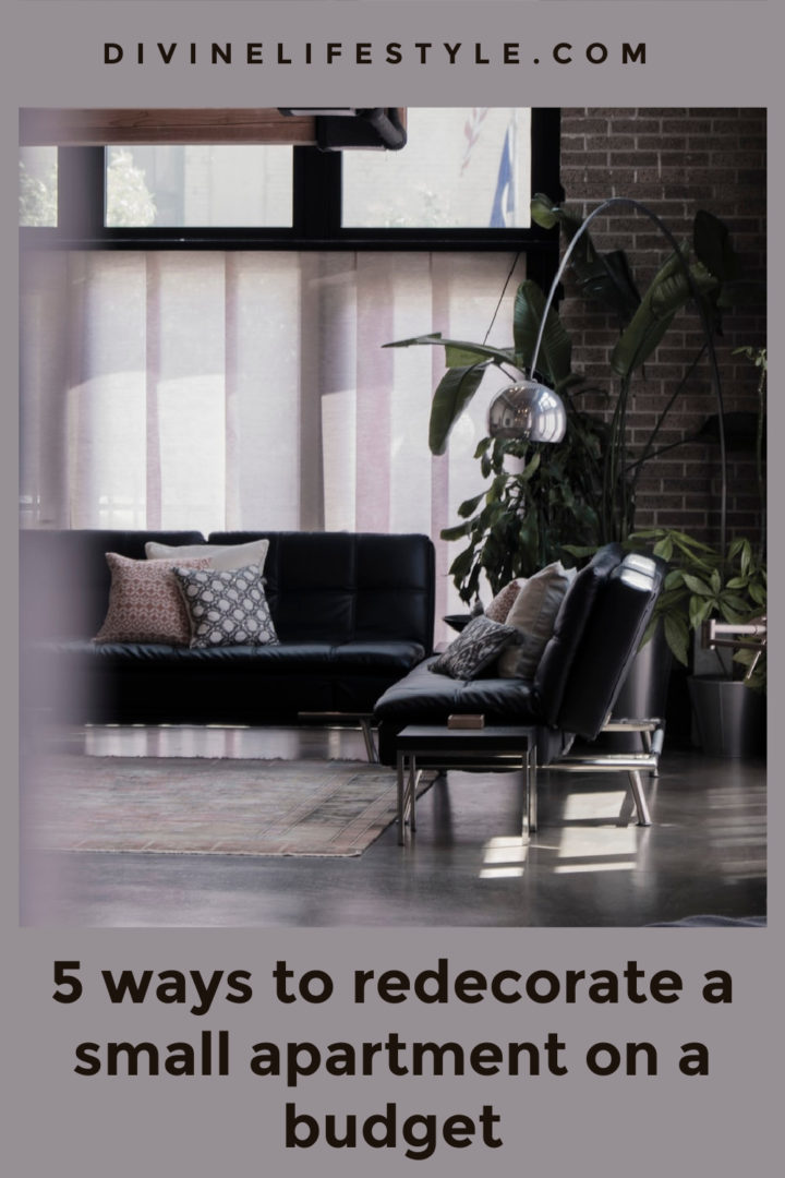 5 ways to redecorate a small apartment on a budget