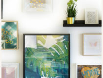 DIY Inexpensive Framed Artwork: How to Create Wall Decor Groupings