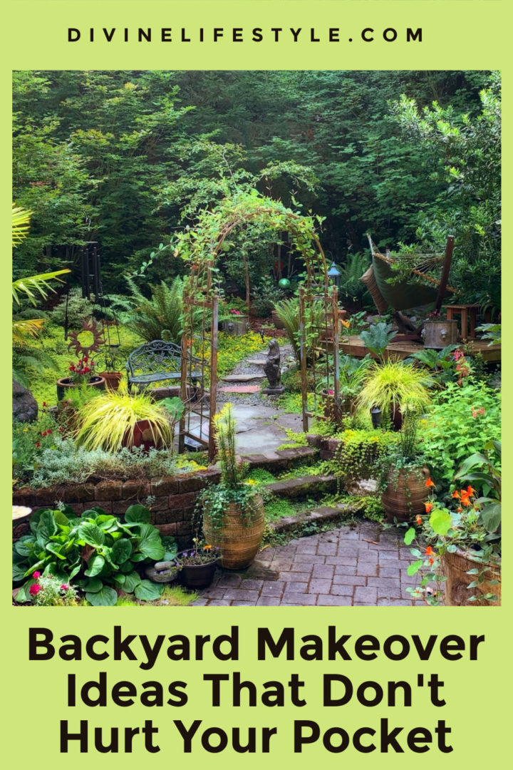 Backyard Makeover Ideas That Don't Hurt Your Pocket