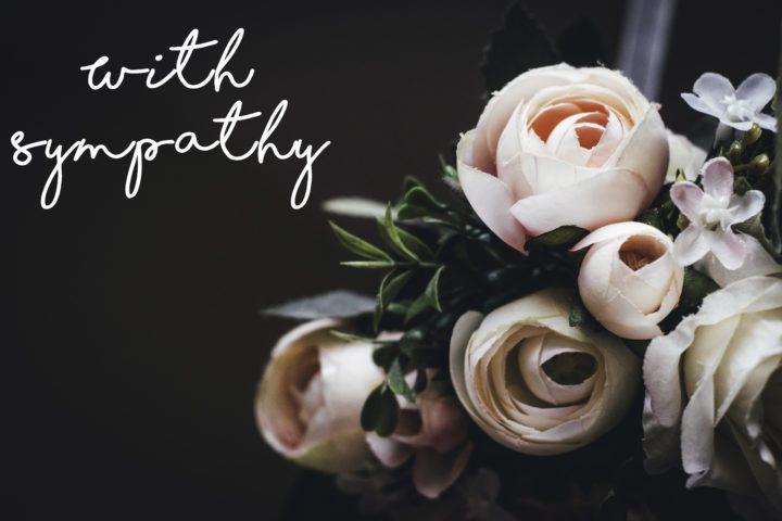 An Etiquette Guide To Sending Sympathy Flowers